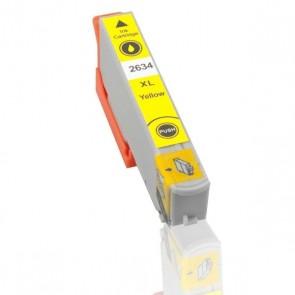 Epson 26XL (T2634) inktcartridge geel hoge capaciteit + chip (huismerk)