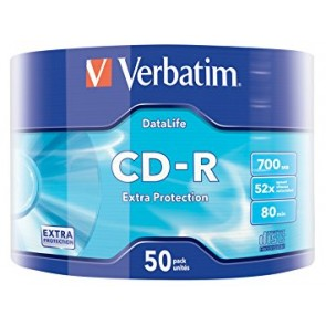 CD-R 80min 52X Verbatim 50 pieces