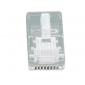 UTP RJ45 connector 5 stuks (ronde kabel invoer (UTP)